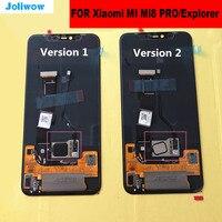 AMOLED для Xiao mi 8 PRO mi 8 Explorer ЖК дисплей с сенсорным экраном + замена дигитайзера в сборе