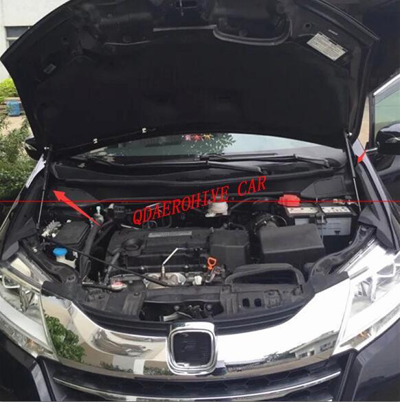 capo do carro qdaerohive reutiliza a mola a gas suporte haste lento para baixo choque amortecedor
