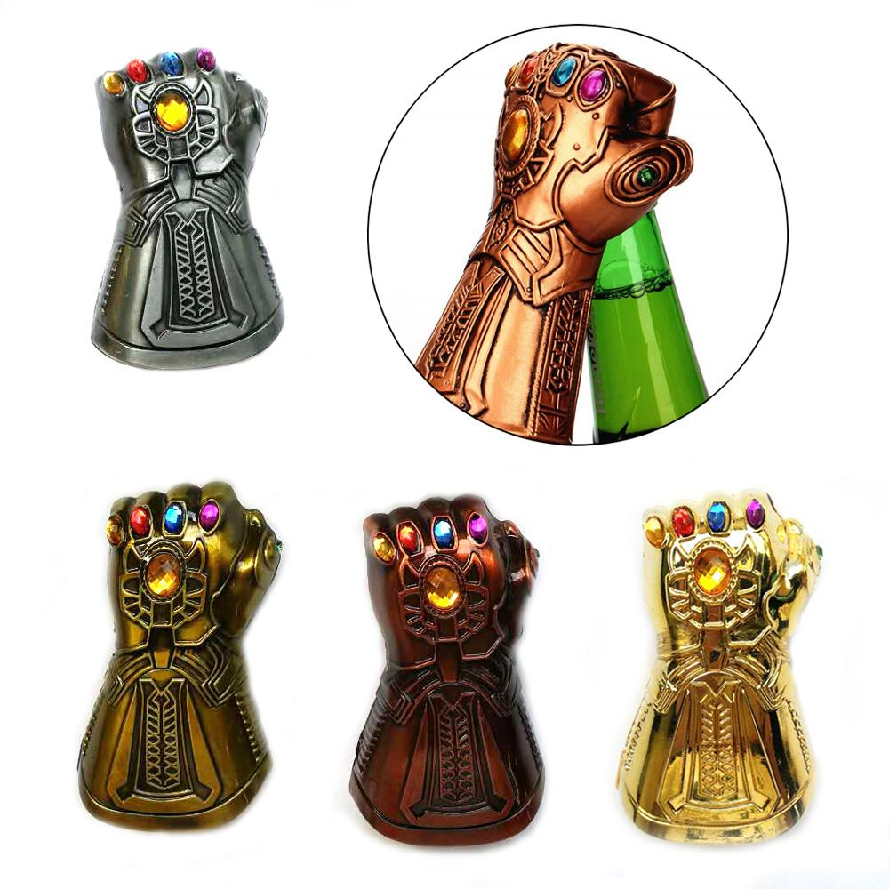Creative Soda Glass Cap Remover Tools For Kitchen Infinity Thanos Gauntlet Glove Beer Bottle Opener Fashion Gifts 35