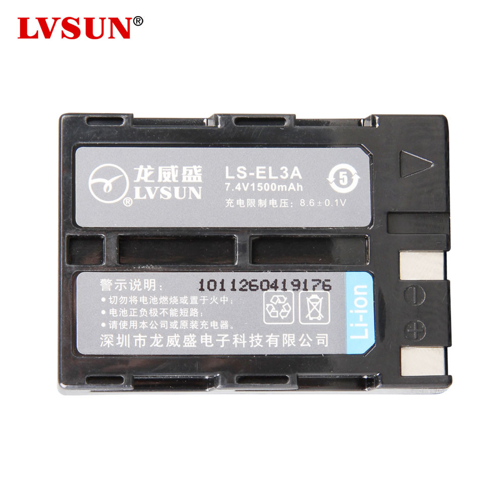 UDOLI EN EL3A EN EL3A ENEL3A Li ion font b Camera b font Batteries For Nikon