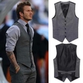 freeship men's vest bakham men's business casual suit vests waistcoats blazer suit vests