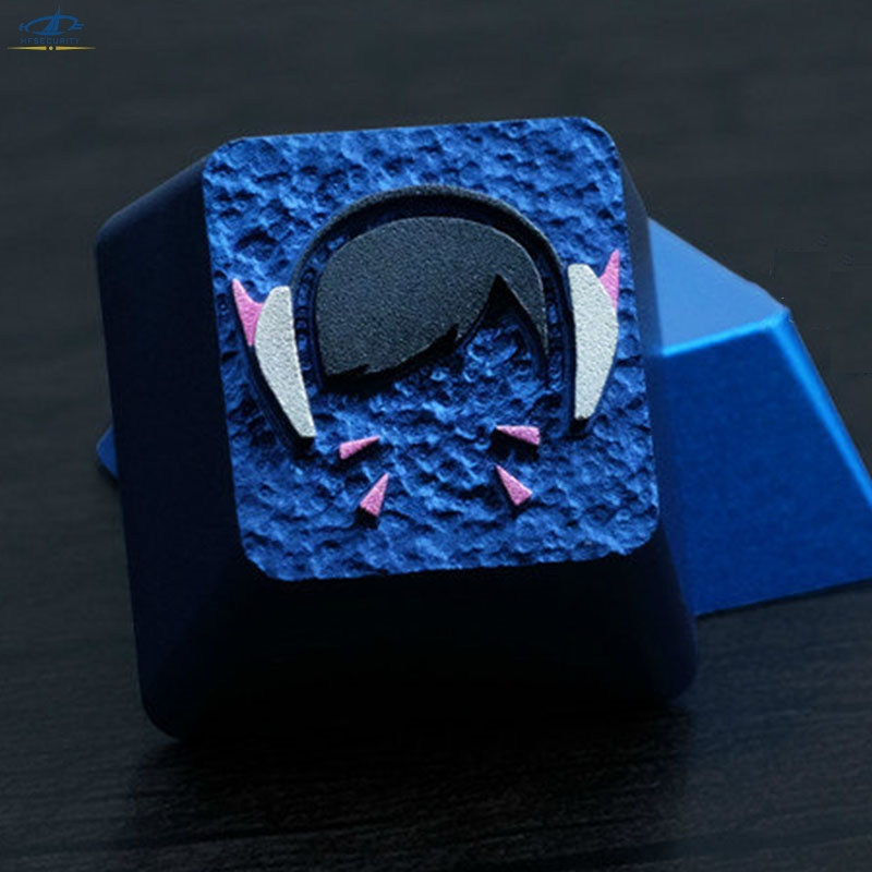 Va Keycaps For Mechanical Keyboard Dva Pink Color 3d Aluminuim Key Cap D hfsecurity