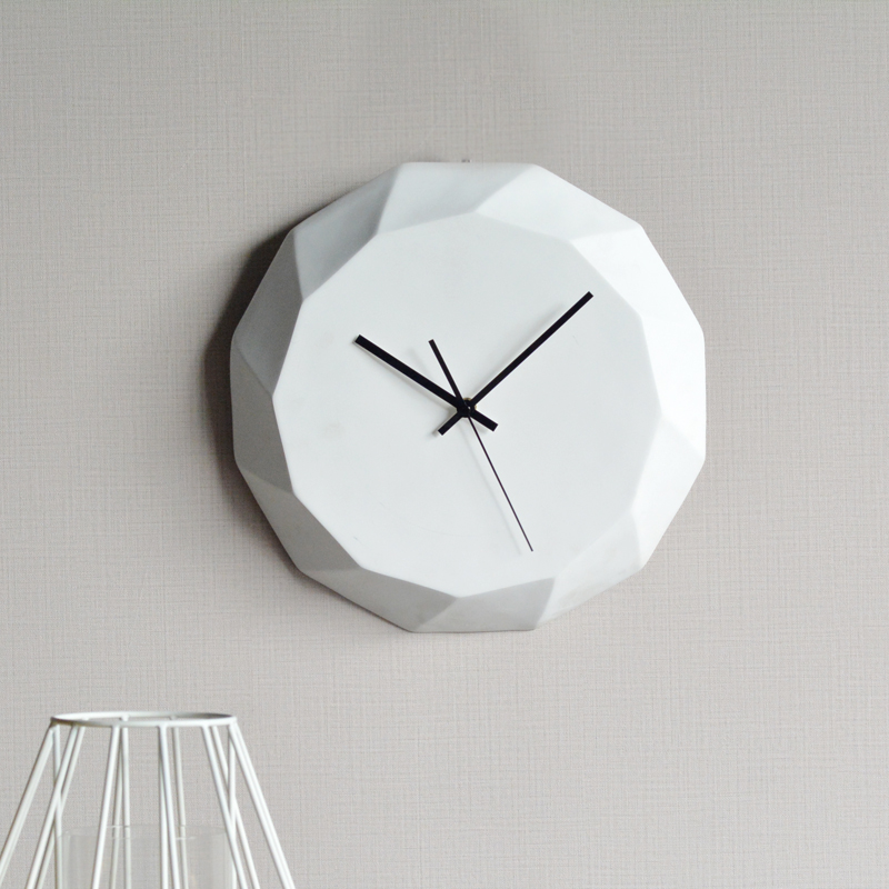 Wall clocks home decor modern design resin decoration simple style ...