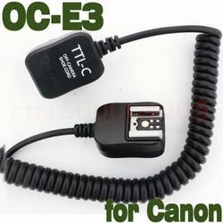 E-TTL FLASH light Off Camera Cord for CAN 600EX 430EX 580EX II 380EX OC-E3 3M
