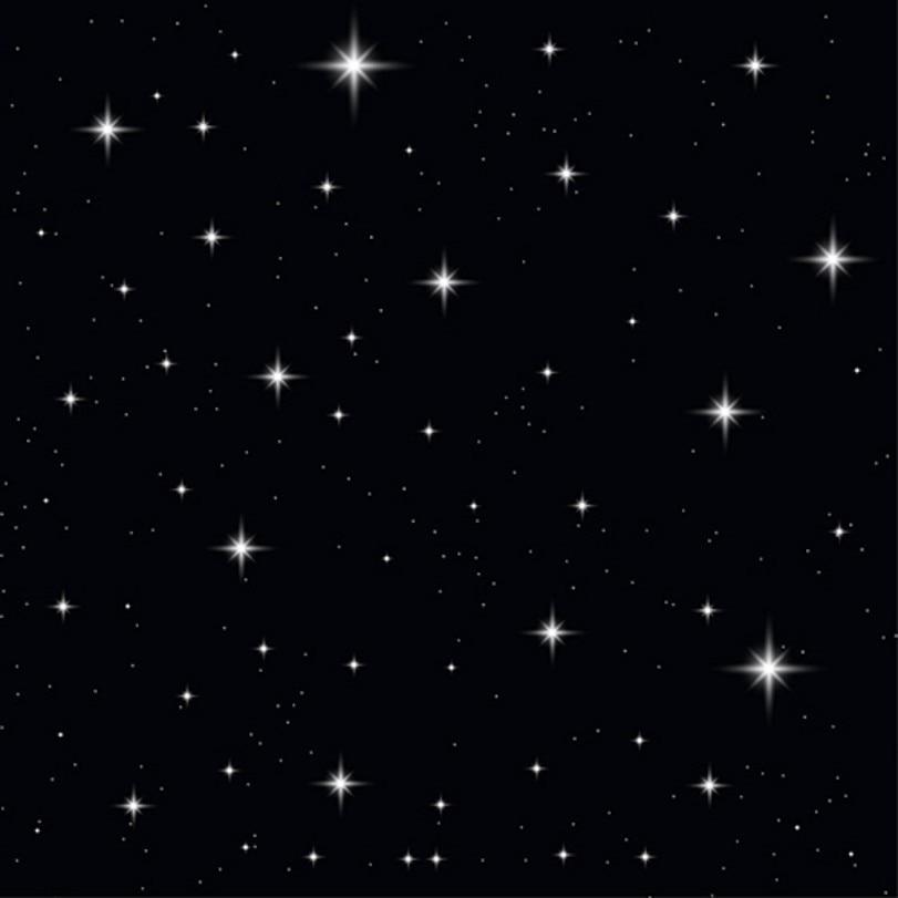 Gambar Bintang Latar Hitam