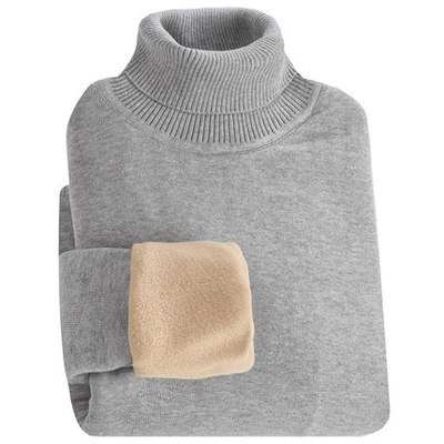 MRMT 2019 Brand Winter Men's Sweater Thickened High Necked Sweater For Male Leisure Solid Color Long Sleeve Warm Sweater