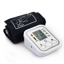 Измеритель кровяного пульса давления Тип руки Электрический тонометр для голоса уход за здоровьем 99 наборы памяти бытовой сфигмоманометр