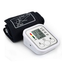Blood Pulse Pressure Monitor Arm Type Electric Voice Tonometer Meter Health Care 99 Memory Sets Household