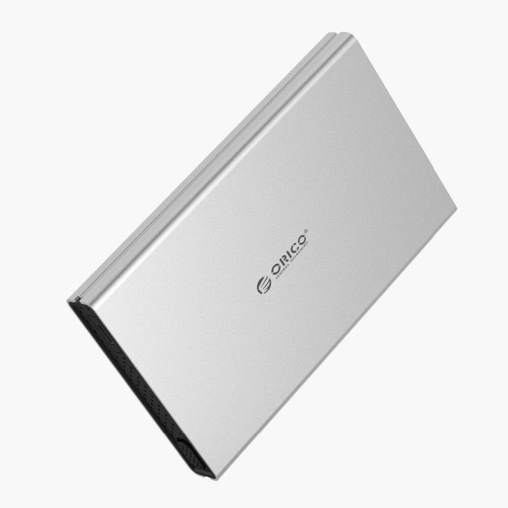 aluminum alloy ORICO 2.5inch SATA to Type-C Aluminum Alloy Hard Drive Enclosure for Mac for Linux for Windows USB3.0 3.1 (3)