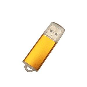 Image 4 - De alta velocidad USB Flash de Metal logotipo personalizado Pendrive 4GB 8GB 16GB 32GB 64GB USB 2,0 boda Cle USB Pen Drive (más de 10 Uds LOGO gratis)