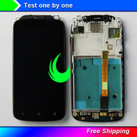 Original Quality For HTC One S PJ40100 LCD Display Touch Screen Digitizer Assembly with Frame Bezel For HTC ONE S LCD Display