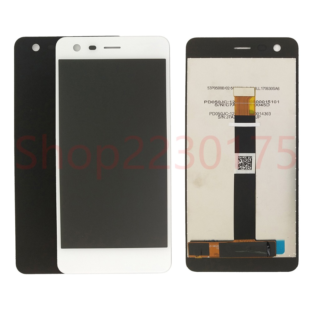 For <font><b>Nokia</b></font> <font><b>2</b></font> TA-<font><b>1029</b></font> DS LCD Display Touch Screen Digitizer Assembly Replacement Parts image