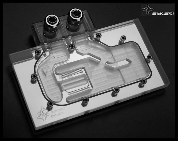 Bykski N-TITAN-X for GTX TITAN X GTX980TI VGA Water Cooling Block