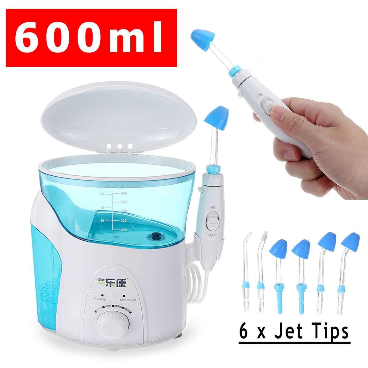 600 ML électrique nez Machine de nettoyage Hydro Nasal et Sinus système d'irrigation nettoyant adultes enfants salin médical