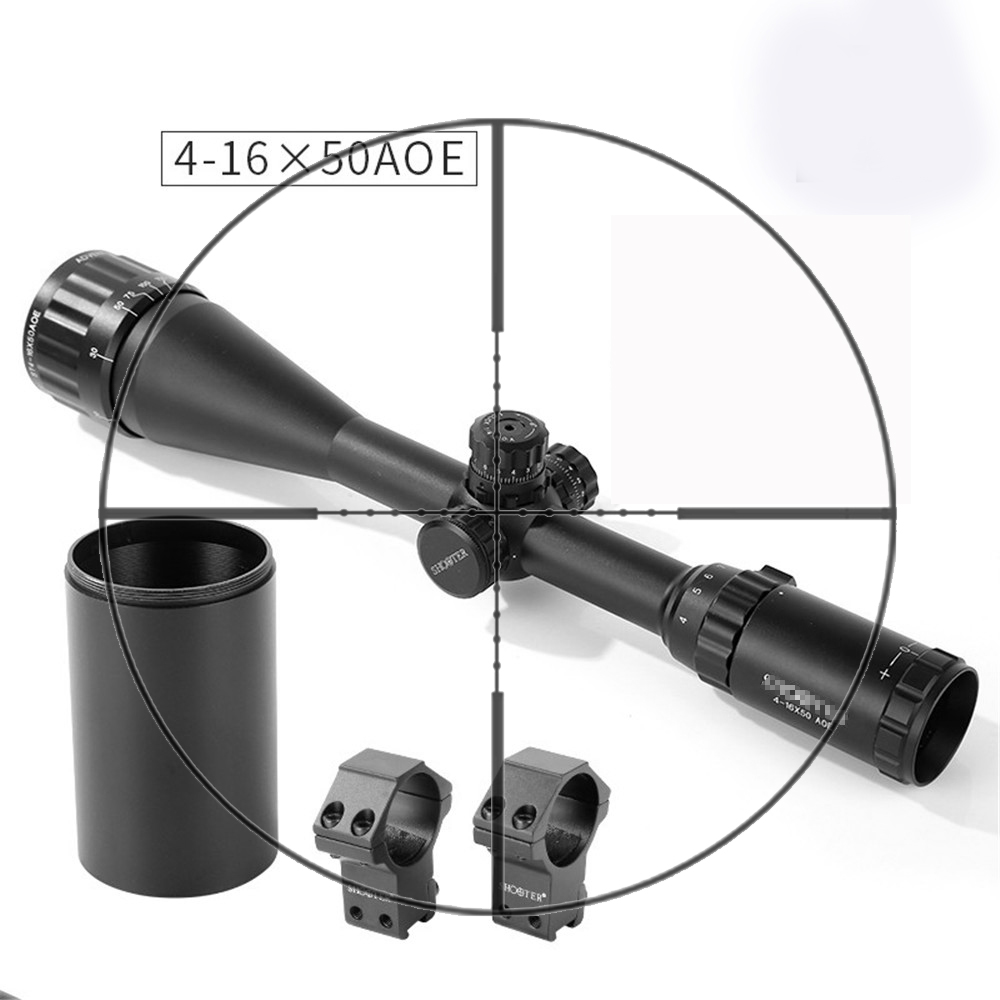 Shooter Tactical ST 4x16x50AOE  Rifle Scope With Light For Outdoor Hunting Shooting  OS1-0350
