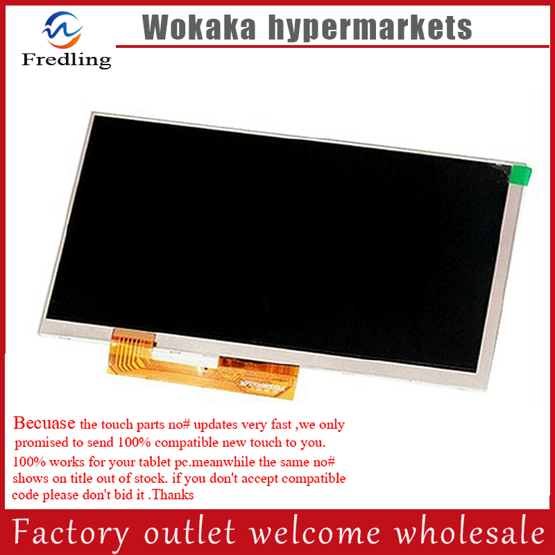 New 7 Inch Replacement LCD Display Screen For oysters pc i t72hm 3G tablet PC Free shipping