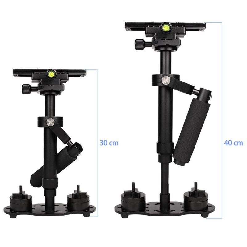 S40 Handheld 0 4M Aluminum Alloy Video Steadycam Stabilizer Mount for Phone for Steadicam for Canon