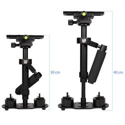 S40 Handheld 0.4M Aluminum Alloy Video Steadycam Stabilizer Mount for Phone for Steadicam for Canon Nikon AEE DSLR Video Camera