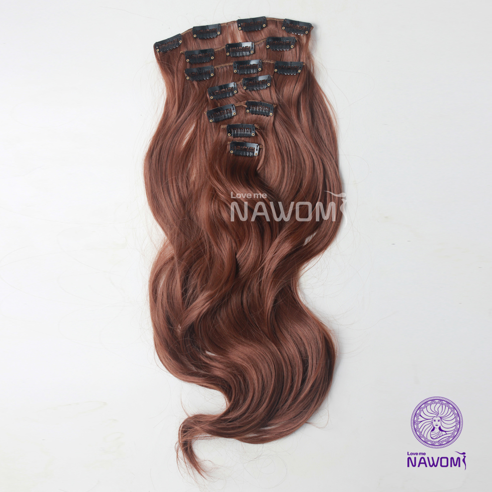 Wholesale Cheap Synthetic Hair Extensions45cm7pcsset Curly