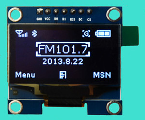 1.3 inch White OLED Module SSD1106 Drive IC Compatible with SSD1306 IC 128*64 IIC/SPI Interface1.3 inch White OLED Module SSD1106 Drive IC Compatible with SSD1306 IC 128*64 IIC/SPI Interface