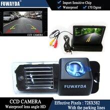 Fuwayda Цвет CCD чип вид сзади автомобиля Камера для Фольксваген Мужские поло V (6R) /Гольф 6 VI/Passat CC + 4.3 дюймов складной ЖК-дисплей Мониторы