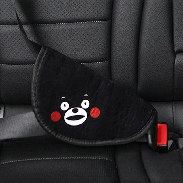 Quality carInterior Accessories child adjuster seat belt triangle holder adjustment sleeve anti-neck Seat Belts & Padding