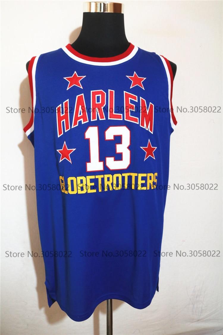 ded6628c ... Hardwood Classics Vintage eBay Mens 13 wilt chamberlain harlem  globetrotters cheap throwback basketball jersey retro jerseys vintage  basket embroidery ...