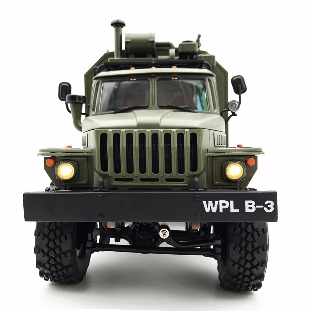 WPL B36 Ural 1/16 Kit 2.4G 6WD RC Car Remote Control Toys RC Military Crawler Off road Remote Truck kids boys toys for Christmas-in RC Cars from Toys & Hobbies    2