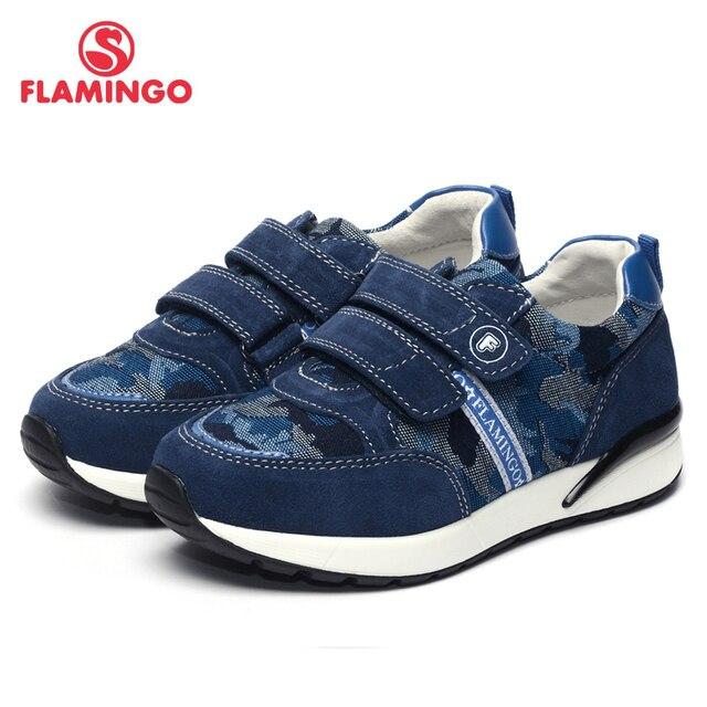 Flamingo 2017 новое прибытие весенние и осенние кроссовки для мальчика высокого качества способа детская обувь 71p-xy-0066