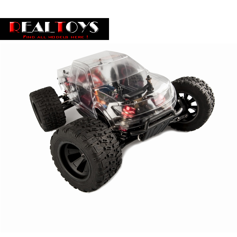 LCRacing 1/14th Brushless Monster Truck RTR, World\'s 1st EMB MTH RTR ...