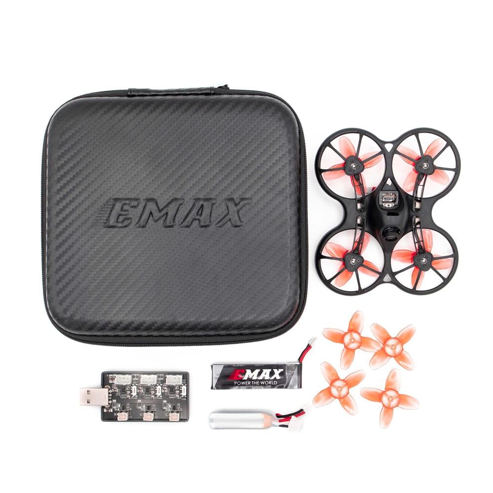 Emax TinyhawkS 75 мм F4 OSD 1 2S Micro Indoor Mini FPV Racing Drone RC Quadcopter Multirotor BNF w/600TVL CMOS камера - 4