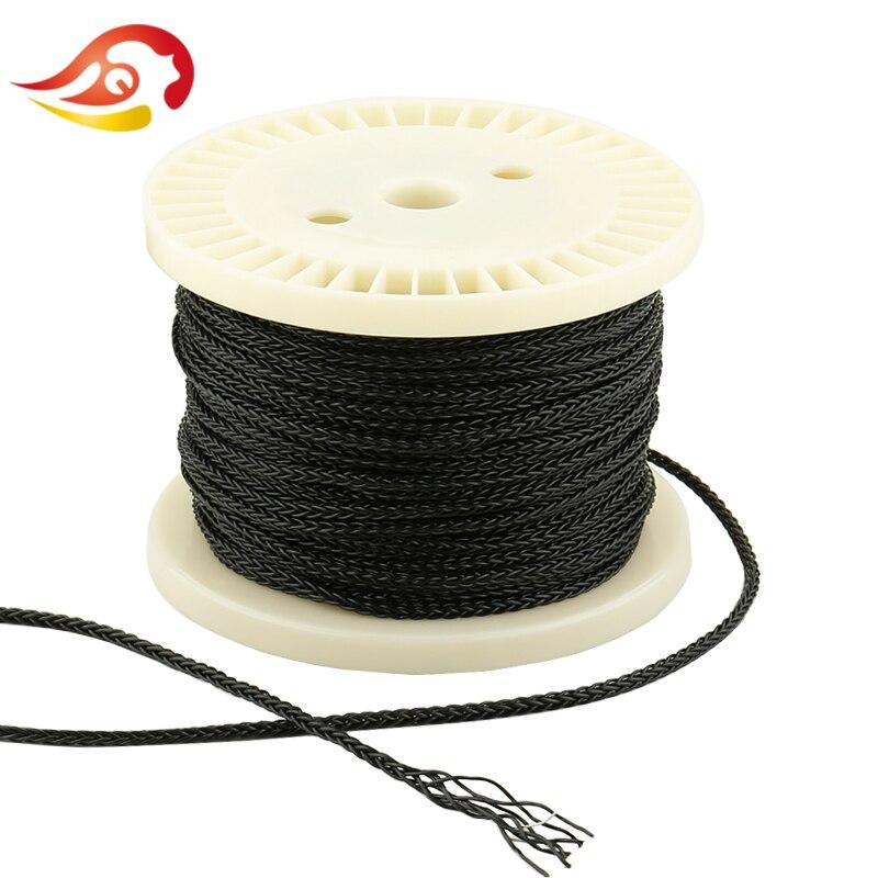 QYFANG 1.2m 8 Core Flexible Silver Foil DIY HiFi Headphone Audio Detachable Cord Soft PVC Earphone Upgrade Cable 8 Drives Line