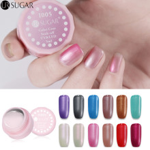 UR SUGAR 5ml UV Gel Nail Polish Soak Off Glitter Pearl Color Gel Polish LED UV Gel Nail Polishes Long Lasting Nail Gel Lacquer