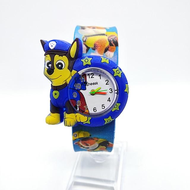 1pcs/lot free shipping High Quality silicone slap watch, kids slap watch doggy t