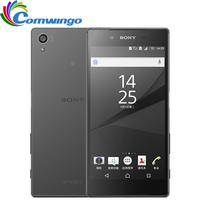 Оригинальный мобильный телефон Sony Xperia Z5 E6683 Octa Core 3G RAM 32G Dual SIM 23.0MP ROM Android 4G LTE 5 2