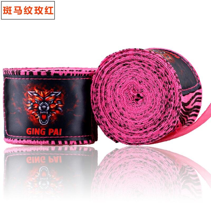 Prix pour 1 paire 3 M ou 5 M De Boxe Bandages MMA Muay Thai Kick De Boxe Bandages Poignet Protection Poing