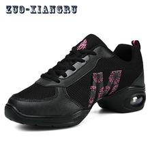 Dance Shoes For Ladies Sports Soft Outsole Breath Women Practice Modern Jazz Hip Hop Salsa Shoes Sneakers Platform Dancing Shoes