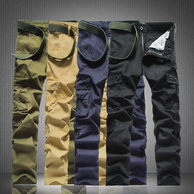 outdoor tactical army military black cargo pants men's sweatpants sports trousers casual clothing male overalls mens pants
