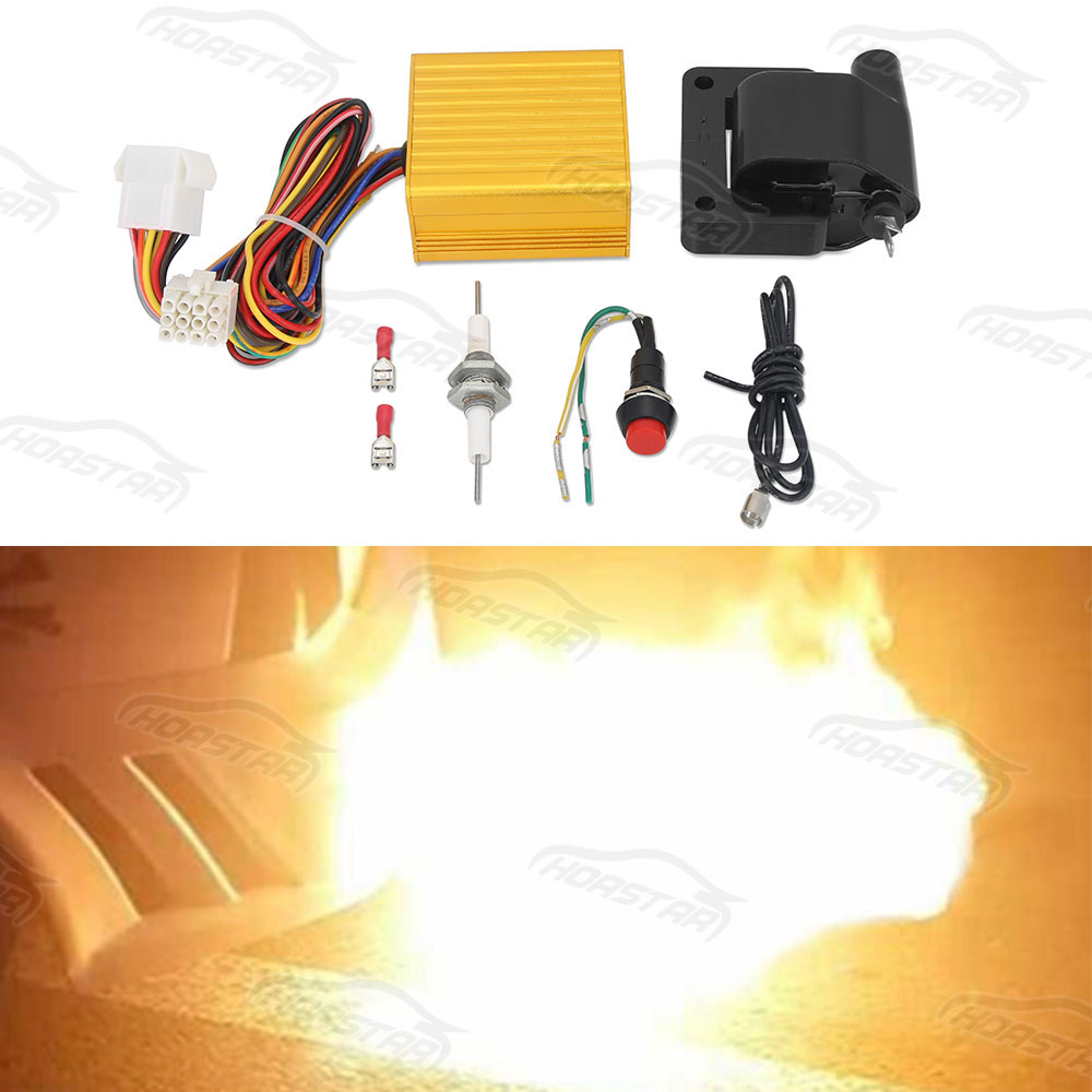 Universal Racing car Exhaust Flame Thrower Kit