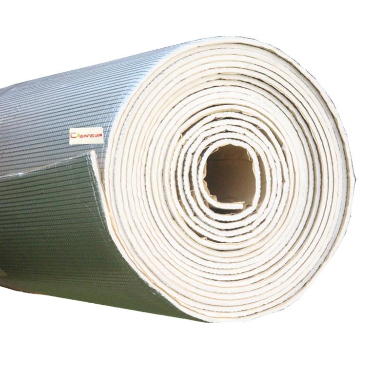 Cawanerl 1 rouleau 1000 CM X 100 CM feuille d'aluminium voiture Turbo hotte pare-feu insonorisation isolation tapis Deadener - 2