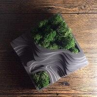 Silicone Mold Cement Molds Storage Concrete Terraced Fields Molds Muti Meat Flower Pots Mould For Desktop