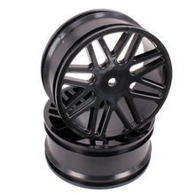 Plastic Front Rear Wheel Rim Tire For Rc Car 1 10 Buggy Off Road Car HSP