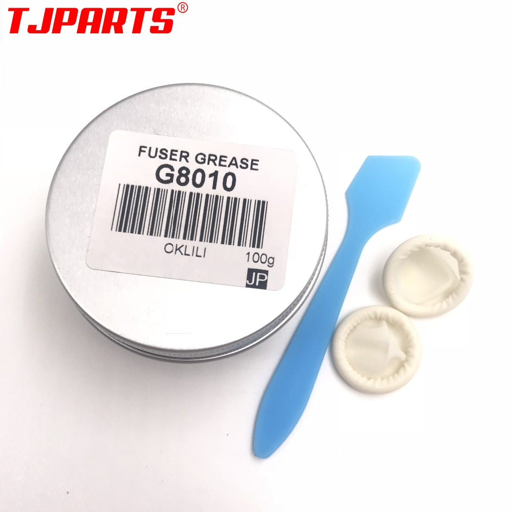 ORIGINAL 100g G8010 for MOLYKOTE G-8010 Silicone Fuser Grease Oil lubricant Metal Fuser Film Sleeve for HP P4014 P4015 4700 4730 original new for hp g8010 for molykote g 8010 fuser grease fuser oil silicone grease 20g on metal fuser film best quality grease