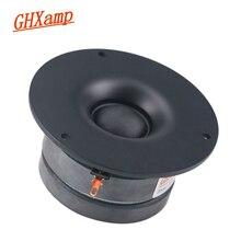 GHXAMP 3.5 inç Tweeter tiz hoparlör ünitesi bluetooth hoparlör DIY 4Ohm 25W taşınabilir hoparlör ev sineması ipek filmi 1 adet