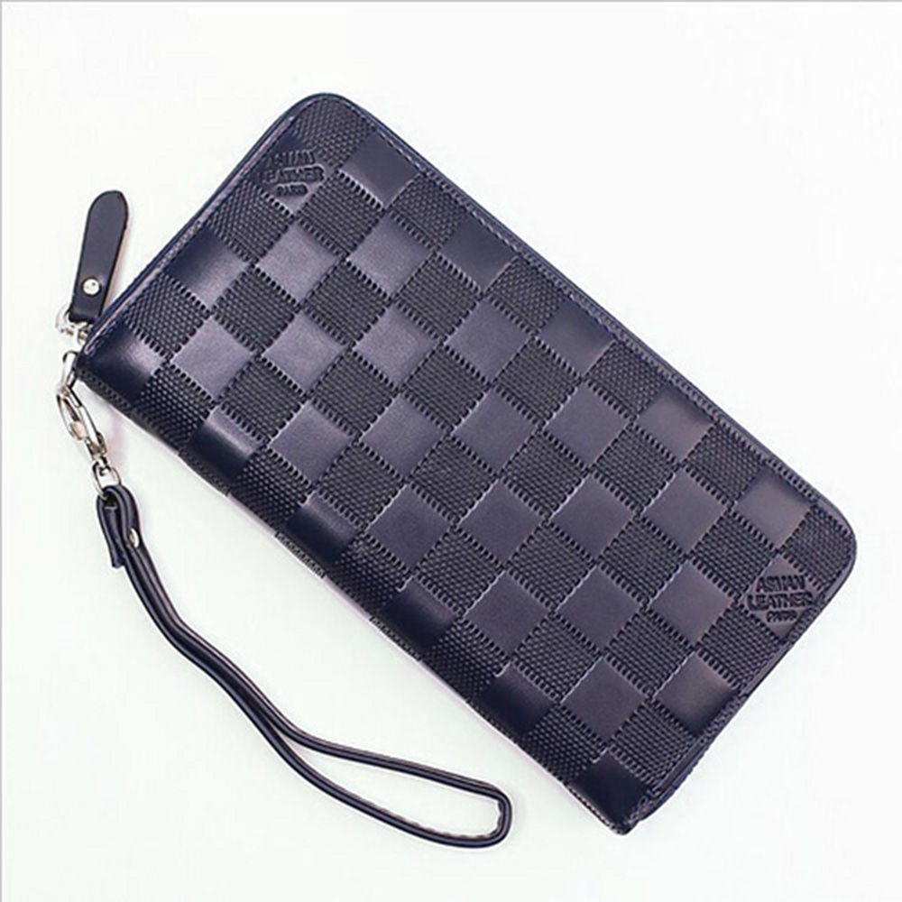 Men's Purse Wallet Men PU Leather Long Design Luxury Men Wallets with Credit Card Holder Phone Pocket Large Capacity  Wallet high quality first layer soft genuine leather men s credit card holder clutch wallet phone purse vintage design long wallets