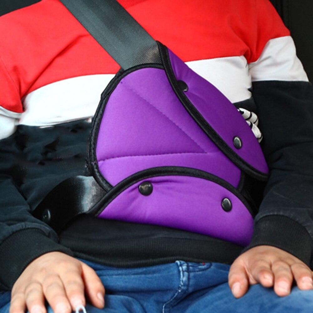 Защитный автомобильный ремень безопасности для маленьких детей, треугольный держатель, защитный чехол для детского сиденья, регулятор, полезная защита для детей