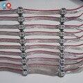 500 PCS WS2812B Pré-soldada em Dissipador De Calor com 10 CM Fio 5 V SMD5050 RGB WS2812 2811 IC Embutido Painel de Led Pixel Módulo de Led