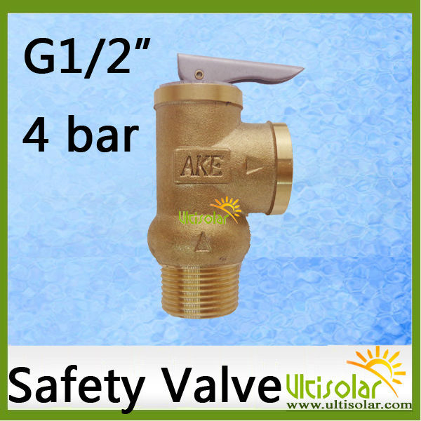 4Bar Opening Pressure Relief Valve YA-15 1/2 AKE Safety Valve 0.4Mpa P Valve to Protect Water Tank Hot Water Heater 10bar opening pressure safety valve ya 20 3 4 ake 1mpa ultifittings com
