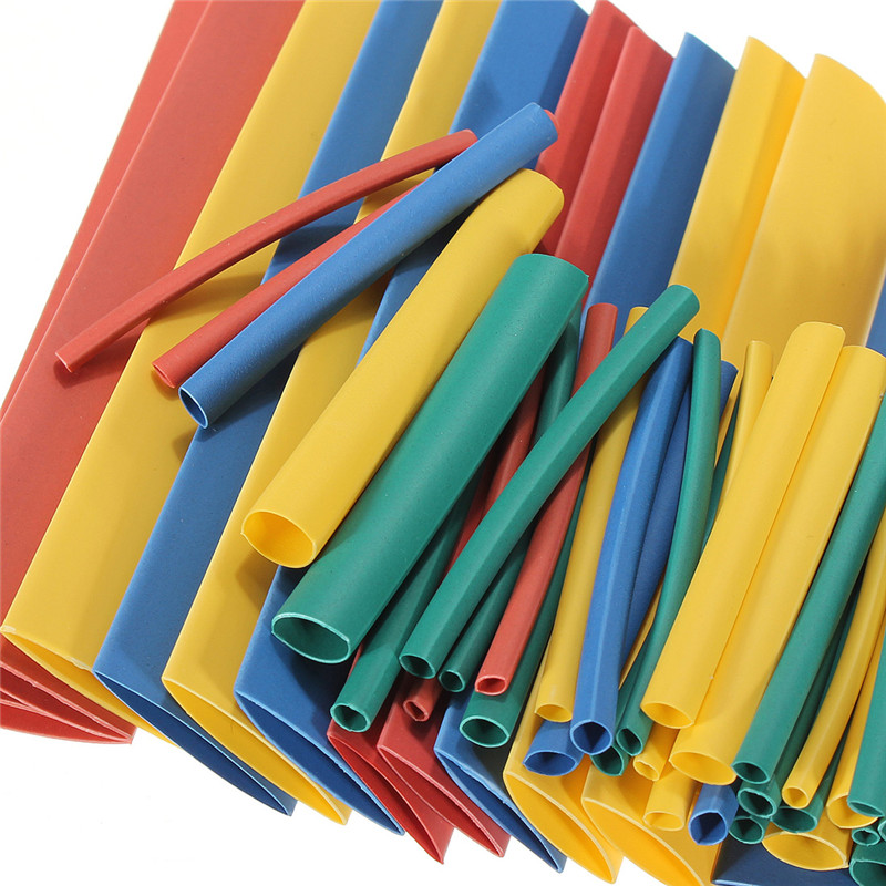 2018 New Arrival 2:1 Heat Shrink Tube Wire Wrap Assortment Tubing Electrical Connection Cable Sleeve Multi-color Hot Sale