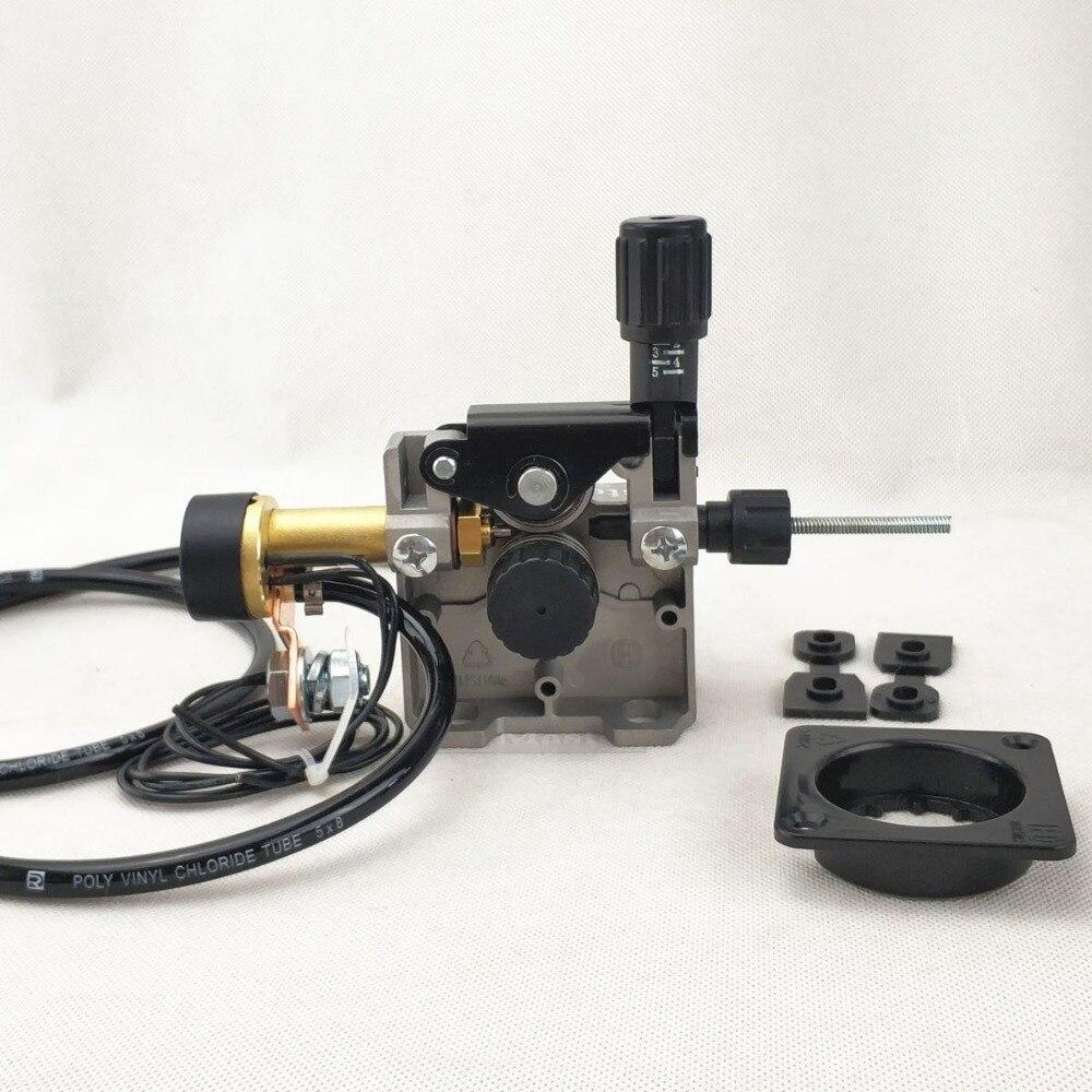 Alimentador de arame DC 24 V Alimentação Do Arame De Solda Montagem para MIG/MAG Máquina de Solda Soldador